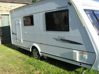 2008 Elddis Odyssey 2 Berth with Motor mover