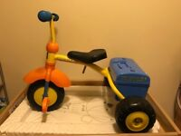 Bob the builder tricycle