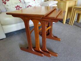 G-Plan Nest of Tables Vintage