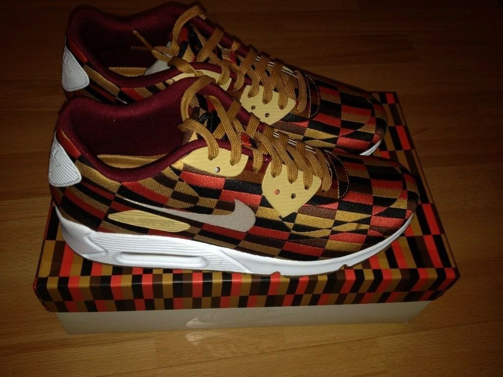 new concept a6848 41d49 closeout nike airmax 90 roundel 7.5uk 2013 rare lim edt london underground  tube 150 year