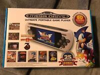 Mega drive portable game player