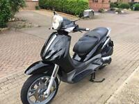 PIAGGIO BEVERLY 500cc black 2004 not vespa liberty!!