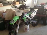 2009 kx450f monster edition. 4500.00obo
