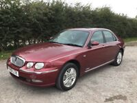 REDUCED PRICE TO SELL QUICKLY ROVER 75 CLUB SE 2-0 V6, MASSIVE £5500 INVOICES FILE, NOW ONLY £445