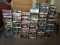 HUGE RARE COLLECTION OF 250 WWE DVDS