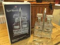 Royal Warwick silver plated Decanters