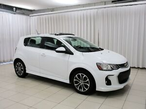 2017 Chevrolet Sonic LT RS EDITION TURBO 5DR HATCH w/ HEATED SEA