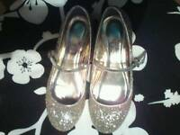 Two pairs of girls shoes for sale