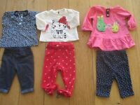 Bundle of 25 Baby Girl Clothe Newborn-1 Month