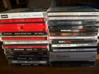 cd rock collection queen,beatles,zeppelin,who,nirvana,hendrix,metallica,free etc
