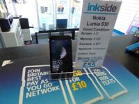 Nokia Lumia 630, Unlocked to any Network, In Good Condition