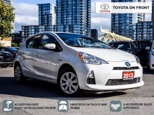 2013 Toyota Prius c Upgrade Package