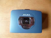 Alba Cassette tape player