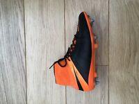 Men's Nike hypervenom football boots, leather SG pro, size 6.5