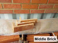 Brick slips, corner bricks, cladding