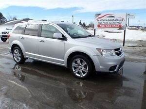 2011 Dodge Journey R/T!! AWD!! CERTIFIED!! SUNROOF!! AWD!!