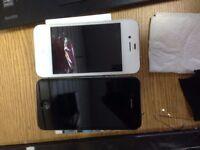 Apple iPhone4S- White or Black -vodafone-talk talk-lebara - mint good condition