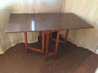 drop leaf table.
