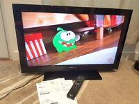 "SONY BRAVIA KDL-32CX520 32"" Full HD 1080p Internet LCD TV/ Recordable Freeview/ 4x HDMI/ 2x USB"