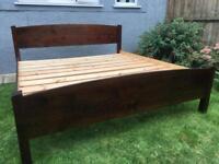Super king size Warren Evans bed frame in great condition