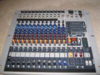 PEAVEY XR 1212 POWER/MIXER. DJ MIXER/AMPLIFIER