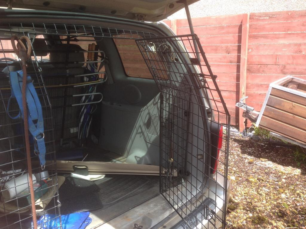 Kia Sedona Dog Tailguard With Door Opening In Forfar