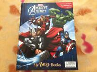 Avengers storybook and toy activity kit