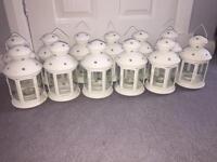Lanterns x 12 wedding