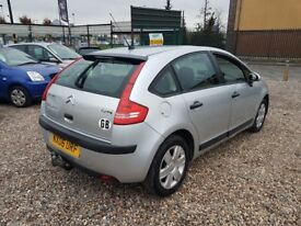 2006 Citroen C4 1.6 HDi Diesel 5 door TOWBAR Low Tax focus astra c3 hatchback
