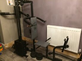 Fully working multi gym in good used condition