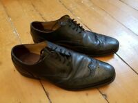 Size 11 Quality Leather M&S Brogues