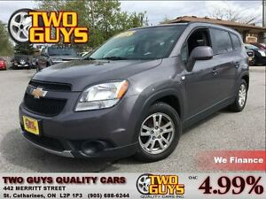 2012 Chevrolet Orlando 1LT  7 PASSENGER 4 NEW TIRES