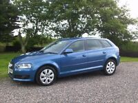 2008 AUDI A3 SE 2.0TDI 5 DOOR ONLY 69K...........................................£5800
