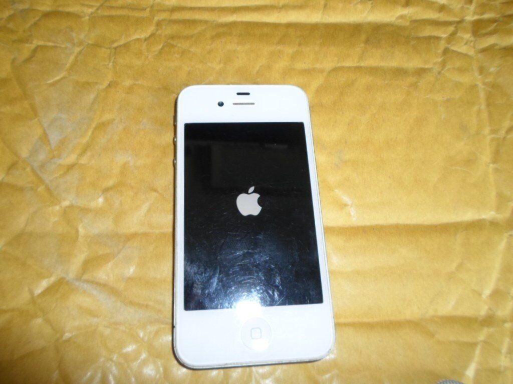Apple iPhone 4s - 16GB- Colour White ***Network Unlocked