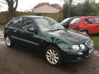 Rover 25 - Low mileage - 1 Former keeper