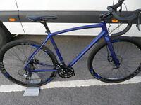 Raleigh Mustang 2016 Brand New Road Gravel Cyclocross Bike Disk Full Warranty Located Bridgend Area