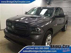 2016 Ram 1500 Sport- Full Load, Vented Seats, Sunroof, Alpine So