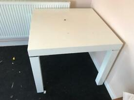 White dinning table 4 seater ex display