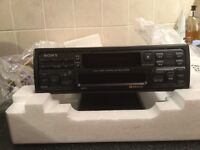 Sony RDS radio casette player 1990's