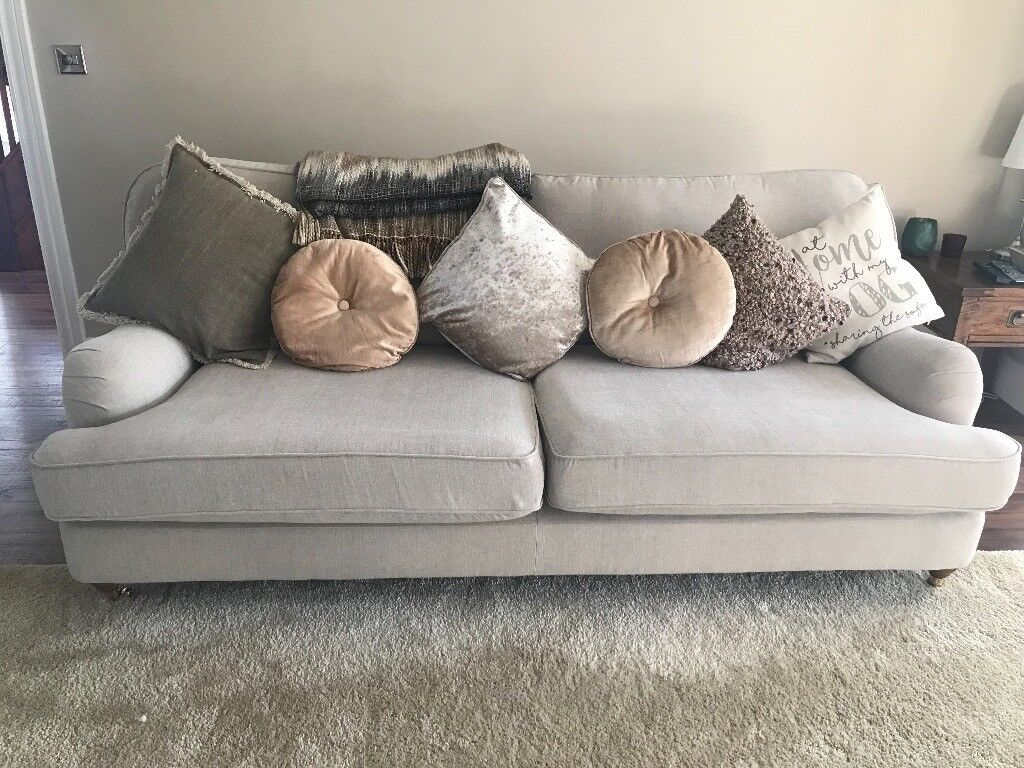 Next Ophelia Sofa Extra Large 3 Months Old Brand New Condition