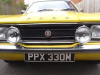 Ford Cortina 2000cc GT mk 3 Daytona Yellow 1974