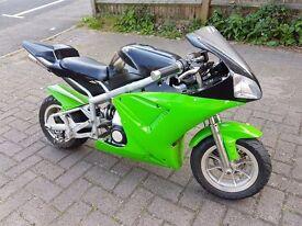 70cc midi moto/ pocket rocket/ mini moto/ mini super bike/ pit bike/ pitbike/ dirt bike/ scrambler