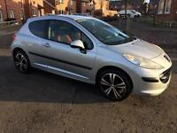 2007 PEUGEOT 207 S 1.4 Privacy Glass, Nice Alloy Wheels! Comes With New MOT!