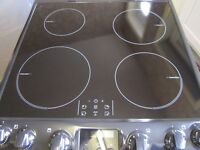 Zanussi ZCI68300XA Electric Cooker with Double Oven