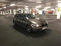 BMW 116D 2.0 Sport Sparkling Bronze
