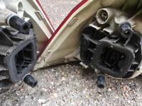 Volkswagen Golf 1.6 FSI parts back Light wing mirror black