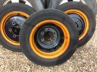 Ford Transit MK7 Twin Wheeler Recovery Truck Tipper Rims