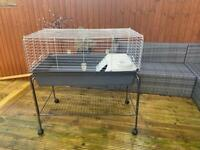 Rabbit/Guinea Pig hutch with stand