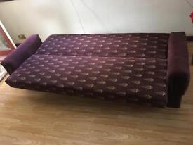 Sofa cum Bed 3 Seater £50/- Good Condition