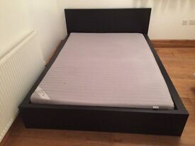 IKEA MALM LOW BED INCLUDING MATTRESS
